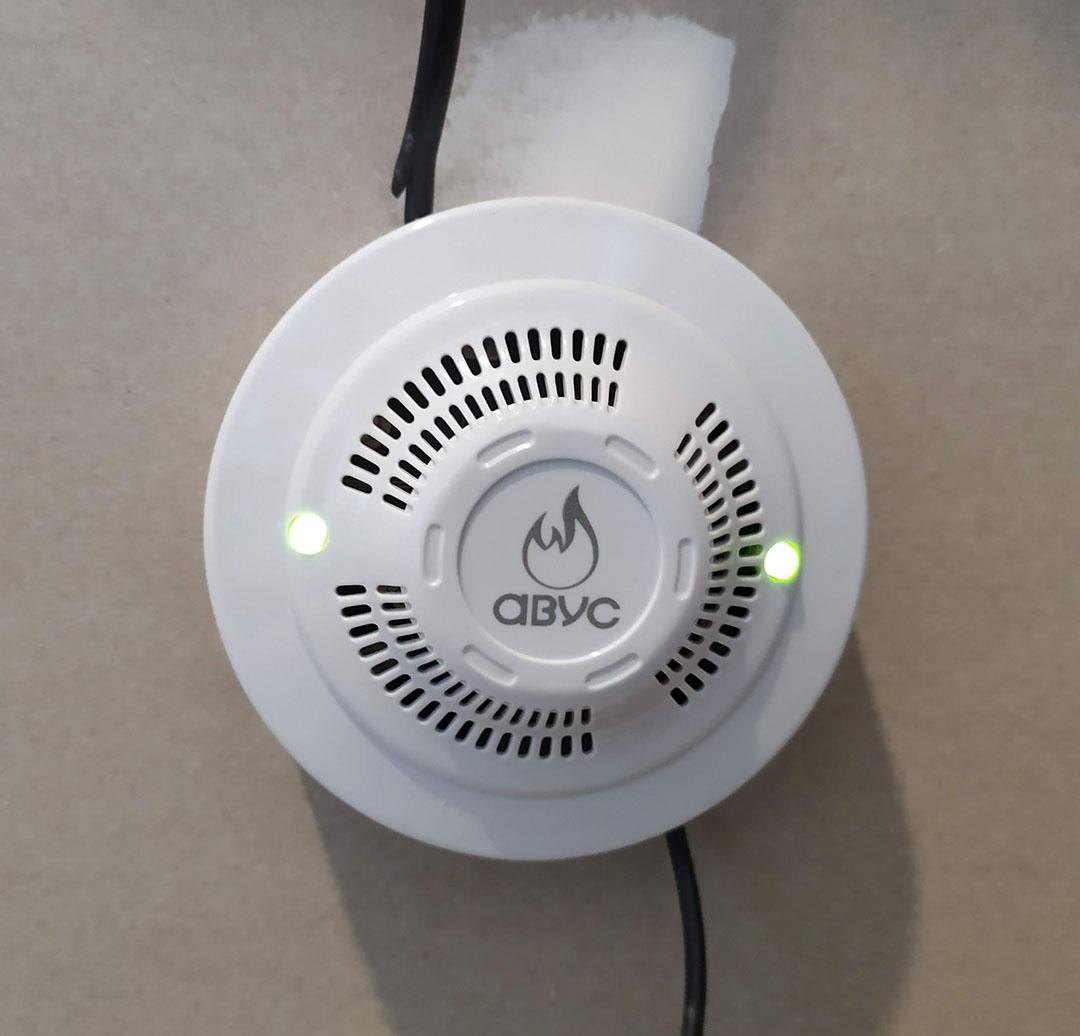 Датчик загазованности на сжиженный газ - Отепление