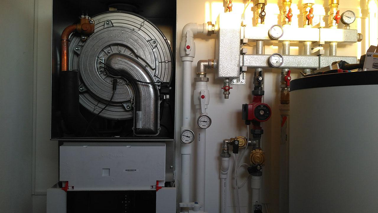 Монтаж отопления - Отепление