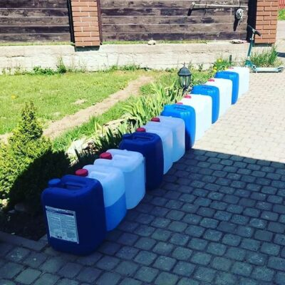 1 июня 2020г промывка системы отопления Дранишники ЛО