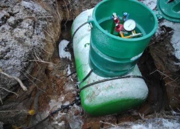 Установка газгольдера под ключ в Тосно